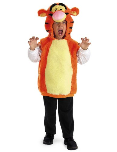 Tigger And Pooh Costumes For Adults (VEST TIGGER 1 TO 2)