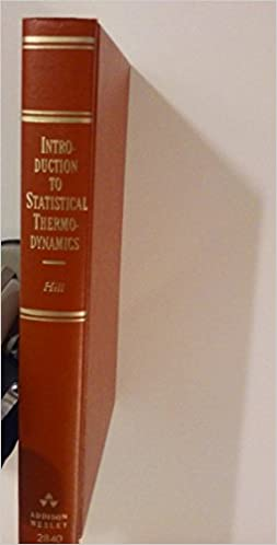Introduction To Statistical Thermodynamics Amazon De Hill Terrell L Fremdsprachige Bücher