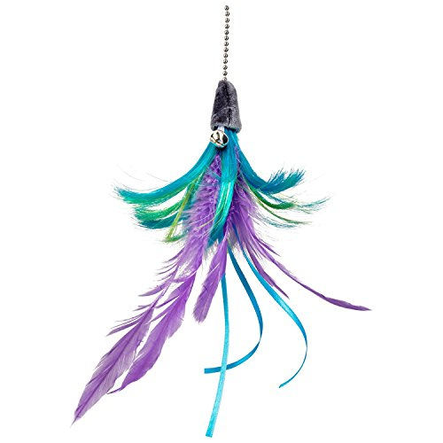 Leaps & Bounds EZ Snap Flip Feather Cat Teaser Toy Refill, 14