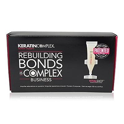 Keratin Complex Vital Shot Restorative Keratin Ampoules (10 x 0.33 oz)