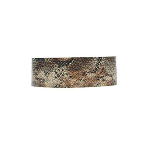 HLDIY Snakeskin Pattern Womens Adjustable Charming Choker Necklace (Snake Skin Pattern)