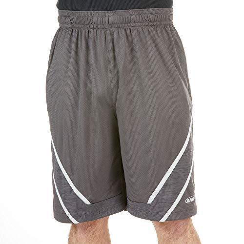 AND1 Men's Gametime Basketball Short Asphalt L