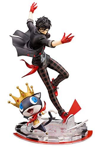 Kotobukiya Persona 5: Dancing Star Night Hero & Morgana 1/8 Scale ArtFX J Statue