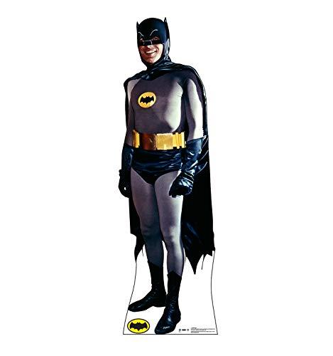 Advanced Graphics Batman Life Size Cardboard Cutout Standup - 1960's Batman and Robin TV Series -