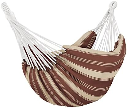 Classic Accessories 50-032-016601-RT Montlake Fade Safe Brazilian Hammock, Heather Henna Antique Beige