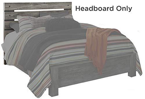 Signature Design by Ashley B227-57 Cazenfeld Headboards & Beds, Queen, Black/Gray (Beach Furniture Bedroom)