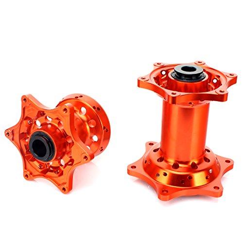 TARAZON Orange CNC Front Rear Wheel Hubs for KTM SX SXF EXC 125 250 300 350 450 520 525 530