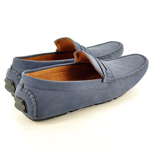 My Perfect Pair - Mocasines para hombre Negro negro Azul - azul marino