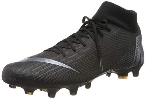 low priced 03319 3882a Nike Men s Superfly 6 Academy FG MG Black Black (8.5)