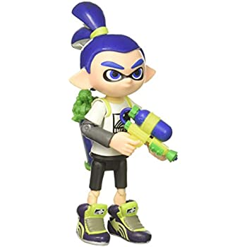 World Of Nintendo Inkling Boy With Blaster Action Figure 4