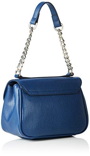 Fornarina Iris - bolsa de medio lado Mujer Azul - Blau (Blue 1100)