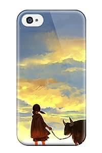 New Style ayanami rei neon genesis evangelion Anime Pop Culture Hard Plastic iPhone 4/4s cases 8045430K614139189
