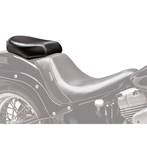 Pad Pera Le Pillion (06-17 HARLEY FLSTF: Le Pera Bare Bones Deluxe Pillion Pad (BLACK))
