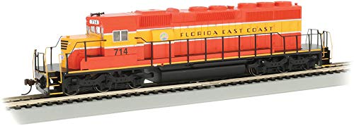 (EMD SD40-2 DCC Equipped Diesel Locomotive Florida East Coast #714 - HO Scale)