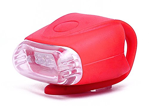 Cheap Retrospec Bicycles Bondi-5 Super Bright 5 LED Urban Commuter Silicon Bike Headlight, Red