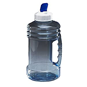 Arrow Home Products 00754 H2O On The GO Jr. Wide Mouth Beverage Bottle, 1.5 L, Clear