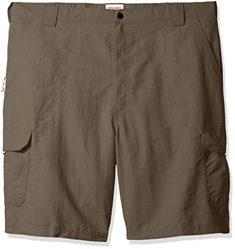Wrangler Authentics Big & Tall Performance Cargo Short,  Weimaraner Brown, 48 ()