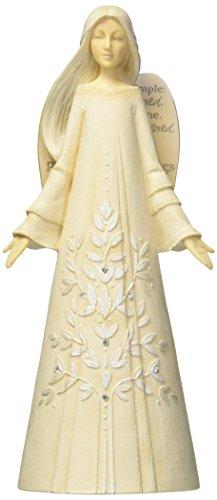 angel resin figurine - 1