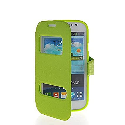 Amazon.com: PHONECASE Leather Flip Stand Side Shell Back ...