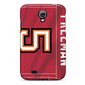 Anti-Scratch Hard Phone Case For Samsung Galaxy S4 (PVu12532rZCT) Custom Stylish Tampa Bay Buccaneers Image