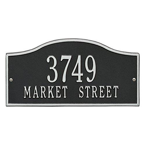 2 Lines Rolling Address Plaque 15