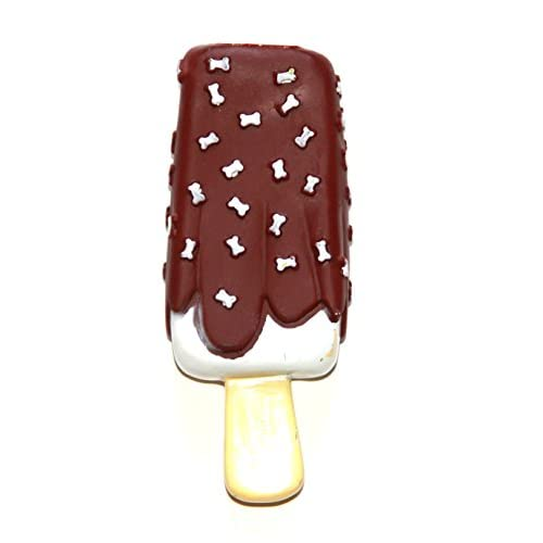 low-cost Fun & Unique Ice Cream Bar Popsicle Chocolate Fudge Vanilla Sprinkles Dog Squeaky Toy GREAT GIFT