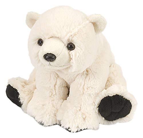 "Wild Republic Polar Bear Baby Plush, Stuffed Animal, Plush Toy, Gifts for Kids, Cuddlekins 8"", Multi (10845)"