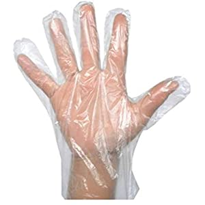 Generic Plastic Gloves Disposable (80pcs) 11″x 12