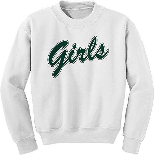 Green FerociTees Girls Shirt Rachel Monica Crewneck Sweatshirt