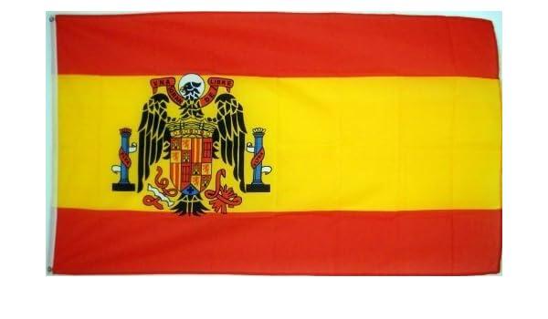 FLAG DISTRIBUTOR 3 x5 Bandera española de España, 1945 – 1977 Bandera de Falange de Franco por Distribuidor: Amazon.es: Jardín