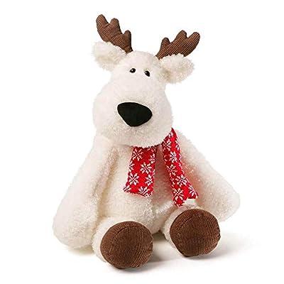 "GUND Aspen Reindeer Holiday Stuffed Animal Plush, White, 18"""