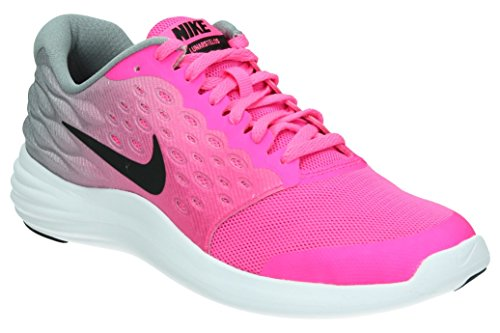 NIKE Lunarstelos GS Youth Running Trainers 844974 Sneakers Shoes 5.5 M US Big Kid Pink Blast Black White 600