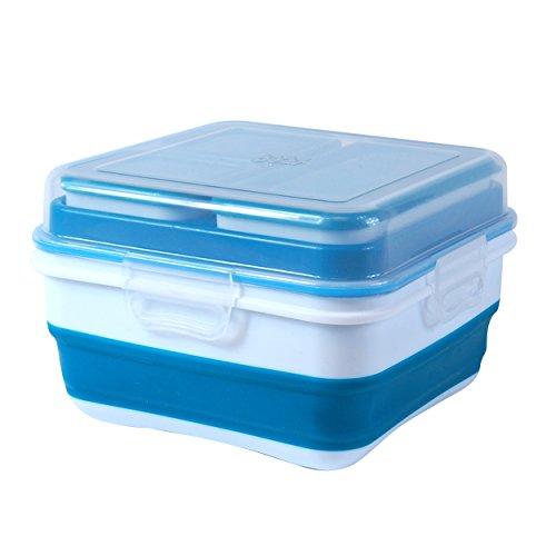 Ez Freeze Food (Cool Gear EZ Freeze Expandable Bento Box, Blue)