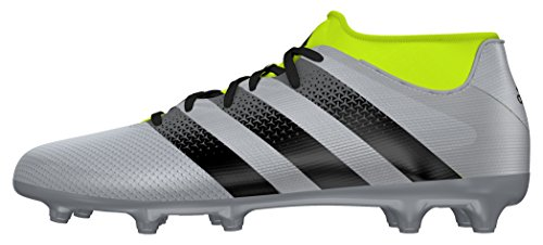 Plamet adidas Plateado 3 Ace 16 Homme AG Primemesh Chaussures FG Negbas de Foot Amasol pwrpqP