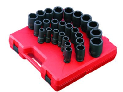 Sunex Tools 4693 26Pc Met Dp Imp Socket Set  B00FF5KVLS
