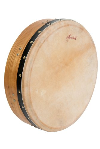 Bodhran, 14''x3.5'', Tune, Mulberry, Sngl by Mid-East