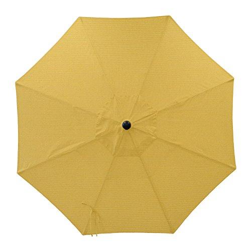 Secret Garden Home Goods 9ft 8 Ribs Market Umbrella Replacement Canopy (Sunbrella- Sunflower (Sunbrella Canopy)