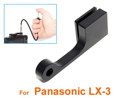 RainbowImaging Mechanical Cable Release Adapter + 40cm Cable Release for Panasonic LX-5 LX-3 & Leica D-LUX 5 D-Lux4 by Colors of Rainbow