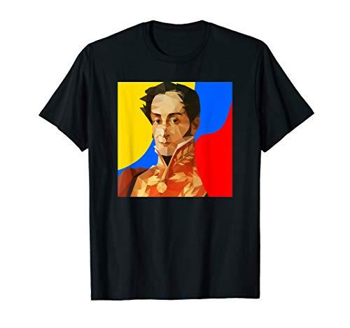 Franela Simon Bolivar T-Shirt Tricolor]()