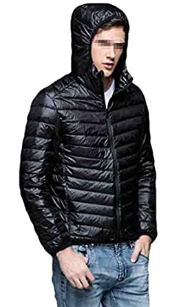 S-Fly Mens Winter Hooded Thermal Coat Light Weight
