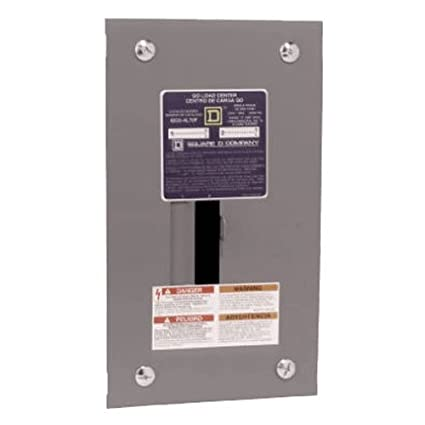 Square D by Schneider Electric QO24L70FCP QO 70-Amp 2-Space
