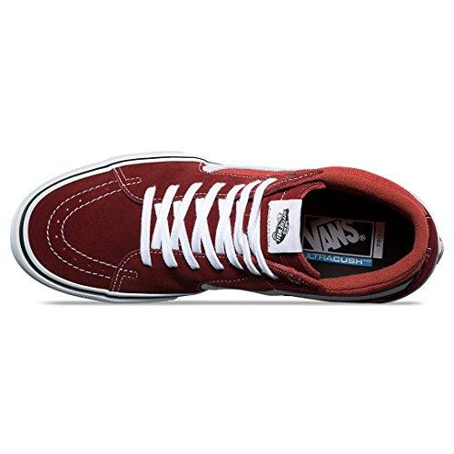 Vans Sk8-hi Pro Sneakers (meekrapbruin / Cinnaber) Heren Hoge Schaatsschoenen