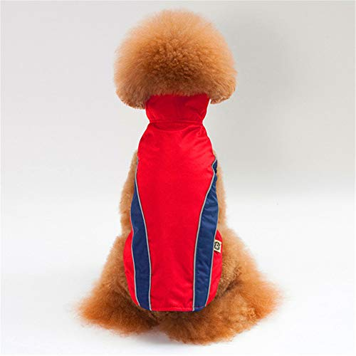 (Jdogayncat Pet Supplies, Autumn and Winter Festivals Bomei Teddy Small Dog Clothes, Outdoor Safety Protection Jackets Ski Clothing Dog Jacket)