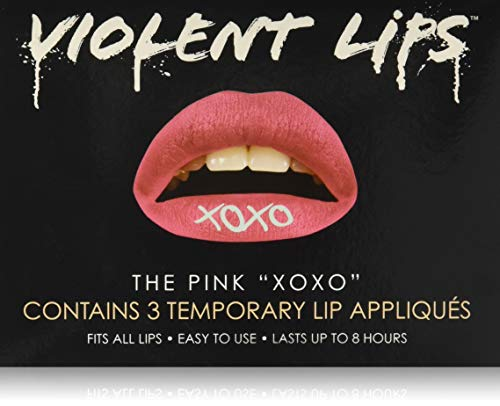 Violent Lips Glitteratti, Pink Xoxo