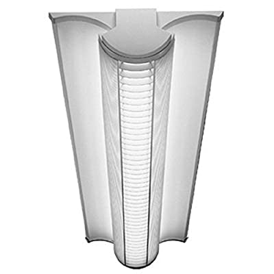 Lithonia Lighting AVSM 232 MDR DLS MVOLT GEB10IS Avante Architectural Linear Fluorescent Surface 2-Light Fixture