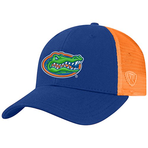 Top of the World Florida Gators Adult NCAA Team Spirit Structured Fit Meshback Hat - Team Color,