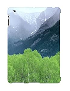 Ideal Treponemaor Plant Case Cover For Ipad 2/3/4(mountain Mist, Alberta, Canada ), Plant Protective Stylish Plant Case