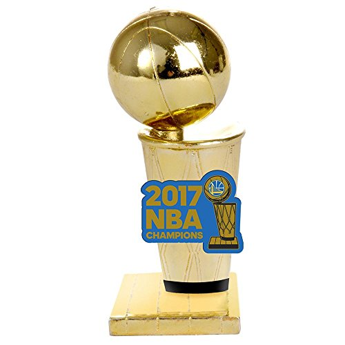 Golden State Warriors Golden State Warriors 2017 NBA Champions Limited Edition Trophy Paperweight (Gold Trophy Figure)