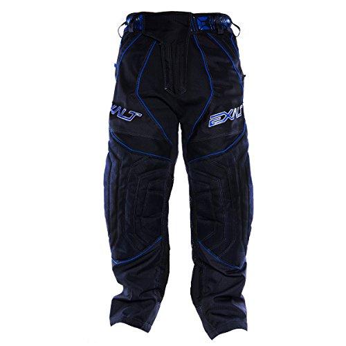 Exalt Paintball T4 Pants - Blue / Black - 2X by Exalt
