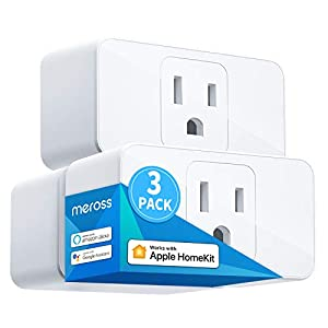 Best Epic Trends 41917QLnMpL._SS300_ meross Smart Plug Mini, 15A & Reliable Wi-Fi, Support Apple HomeKit, Siri, Alexa, Echo, Google Assistant, Nest Hub and…